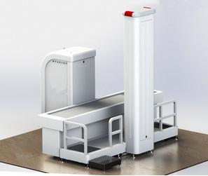 5010-DC型双通道人体、行包安全检测仪