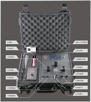 常德2020新版天狼星远程金属探测器:深度50米